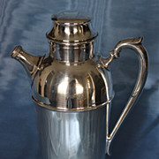 American Silverplate Art Deco Cocktail Shaker