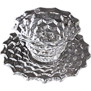Fostoria American Mayonnaise Bowl with Underplate