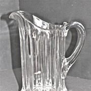 EAPG Portland Water Pitcher C. 1880-1900