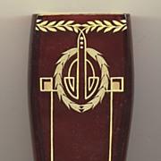 Jugendstil Art Glass Vase by Josef Riedel c. 1912