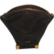 SOLD Fireside Genuine Leather Pipe Tobacco Pouch