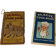 2 Magic Cook Book and Housekeepers Guides E.W. Gillett