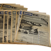 Britain's International Aviation Newspaper 1970's and Early 1980's