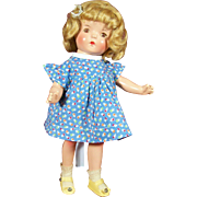SOLD 1930's Vintage Composition Doll in Super Condition