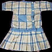 SOLD Vintage Schoenhut Type Doll Dress