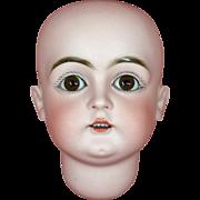 SOLD Beautiful Kestner 129 Bisque Doll Head