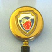 Charming Vintage Washington State Souvenir Retractable Pencil Enamel Brooch