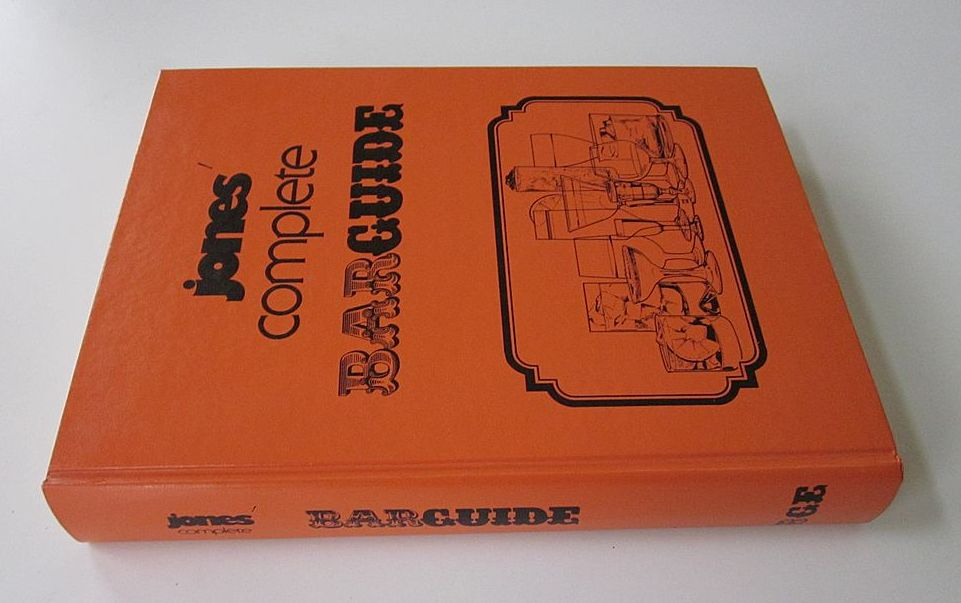 Jones' Complete Barguide, 1977, by Stanley M. Jones - Scarce Collectible Bar Guide