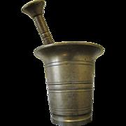 Brass Mortar & Pestle