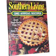 Southern Living Cookbook 1992 Annual Recipes