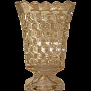 Fostoria American Square Flower Vase