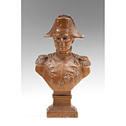 SOLD Early 20th C. Spelter Bust of Napoleon