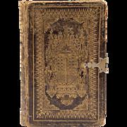 SOLD Antique Scottish Bible, 1848, Alexander Fleming