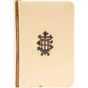 SOLD English Book Of Common Prayer With Ivorine Cover