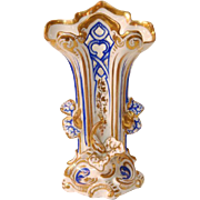 Hand Painted Old Paris Rococo Vase