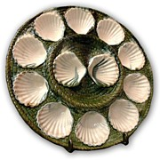 Longchamp French Faience Clam Plate