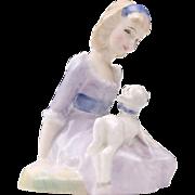 Royal Doulton Figurine, Mary Had A Little Lamb, H. N. 2048