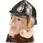 Royal Doulton Character Jug, The Sleuth, D. 6635