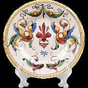 Raffaellesco Style Fratelli Fanciullacci Serving Plate