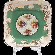 Royal Chelsea Staffordshire Square Bowl, Rococo Style