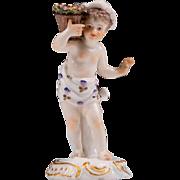 Royal Vienna Style 19th Century Porcelain Figurine