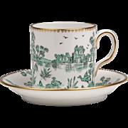 Royal Chelsea China Demitasse Cup & Saucer, 1912 – 1951
