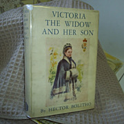 SALE PENDING Victoria, The Widow and Her Son, Bolitho, 1st