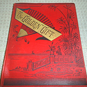 Sale!!  'The Golden Gift', Poetry, Engravings, 1884 1st ed.