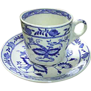 Grimwades Royal Winton Blue & White cup, saucer, plate