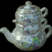 James Kent 'Crinoline Lady' chintz tea-for-one pot!