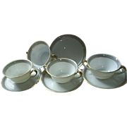 Elegant Selb Bavaria buillion bowls
