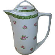 Vintage Rosenthal Chocolate Pot, roses!
