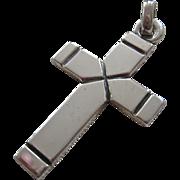 SALE James Avery Sterling Silver 925 Latin Cross Pendant