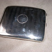 Fabulous Early 1900's English Sterling Silver Cigarette Case