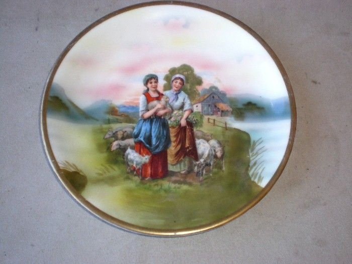 Fabulous Royal Bayreuth Sheperdess Plate