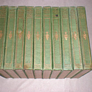 10 Volume Lock & Key Library - Classic Mysteries of the World
