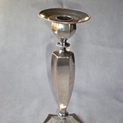 Beautiful Sterling Silver Weighted Candle Stick