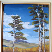 Fabulous Original Landscape Oil Painting - Lloyd Laverick(1914-1981)