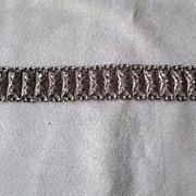 Vintage Filigree Link Style Bracelet