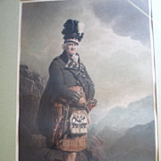 "Antique Mezzotint by ""Henry Macbeth Raeburn (1860-1947)"" - The McNab"