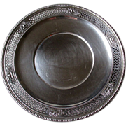 """""""Watson"""" Sterling Silver Serving Tray with Urns"""