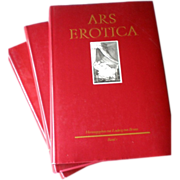"""Ars Erotica"" by Ludwig von Brunn - 18th Century French Erotic Art in 3 Volumes"