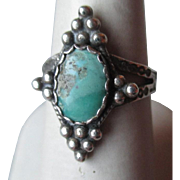 Beautiful Sterling Silver and Turquoise Ring
