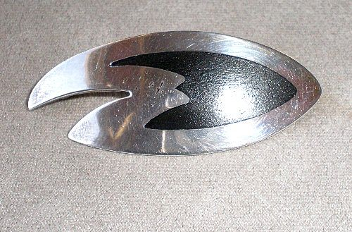 Fabulous Danish Designer Sterling Silver Pin
