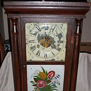 Marvelous Early Seth Thomas Pillar Ogee Clock