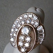 REDUCED Magnificent 14k Gold & Diamond Cocktail Ring