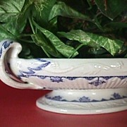 Ironstone Dish in Blue Denmark Pattern by Furnival from 1882 (dated; 1 avail.)