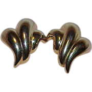 REDUCED Gold Tone ERWIN PEARL Earrings