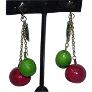 Fruit Salad Dangle Earrings