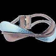 REDUCED Vintage MATISSE RENOIR  Modernist Enamel Copper Bracelet